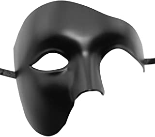ZbFwmx Half Face Masquerade Mask Halloween Costume Phantom of The Opera Mask for Men and Women