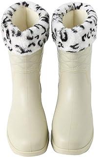 Fashion Classic Anti-Slip Shoes PVC Rubber Women Ladies Comfortable Shoes Children's Water Shoes Waterproof Rain Boots