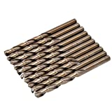 1 scatola punte elicoidali acciaio inossidabile acciaio inossidabile strumento di perforaz...