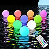 Floating Pool Lights Ball with RF Remote, HOMLY...