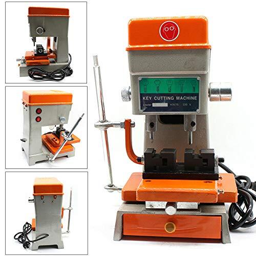 Duplicatore di chiavi verticale della taglierina chiave del fabbro della macchina da 180W 12000 R / M