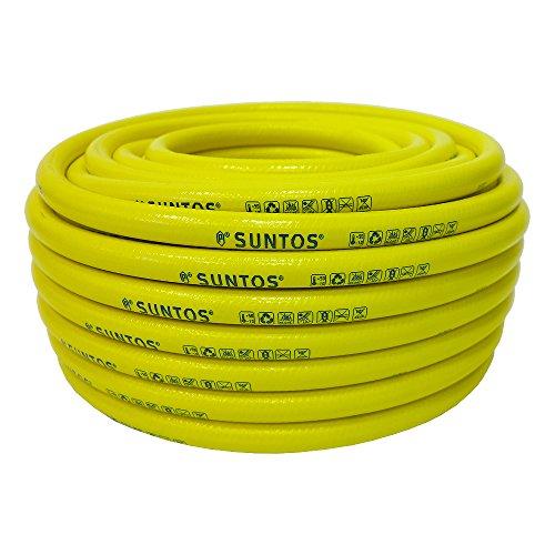 """Sanifri 470010052 """"Suntos"""" Qualitätsschlauch 50m. No Torsion System - knickfest und verwindungsfrei, kälte- und hitzebeständig ( -10°C - 50°C), Abmessung 1/2"""", Wandstärke 2mm"""