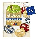 Heitmann Eierfarben Goldglanz - 3er Pack - 3 flüssige Kaltfarben