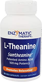 ENZYMATIC THERAPY L-Theanine Capsules, 180 CT