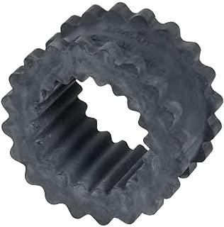 Lovejoy 35359 Size 4JE Solid Design S-Flex Coupling Sleeve, EPDM Rubber, 2.31