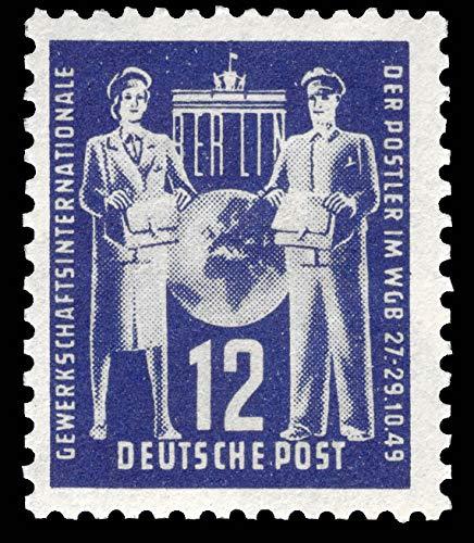 philaseum Briefmarken DDR 1949, Mi. Nr. 243, Postgewerkschaft, Postfrisch (Mi 10,00 EUR)