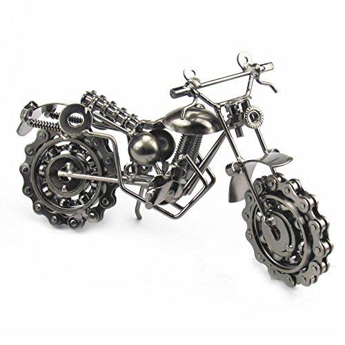 SwirlColor Motorrad Modelle, Herren Jungen Motorrad Zubehör Motorrad Handwerk für Dekoration Oder Sammlung(Art3)