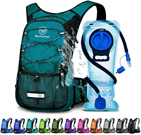 Mothybot Hydration Pack Insulated Hydration Backpack with 2L BPA Free Water Bladder and Storage product image