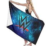 WWE Champion Cotton Beach Towel Toallas De Baño Absorbentes De Microfibra 80X130Cm Manta De Toallas De Secado Rápido para Mujeres, Niños, Hombres