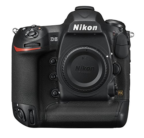 Nikon D5 DSLR 20.8 MP Point & Shoot Digital Camera, Dual XQD Slots -...