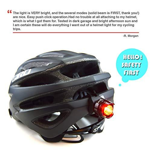 Stupidbright SBR-1 Strap-On LED Rear Bike Tail Light