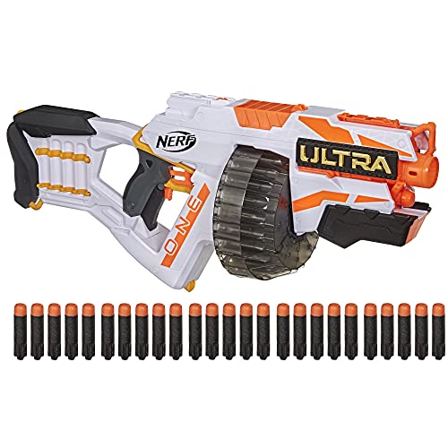Nerf Ultra One Motorized Blaster -- 25 Nerf Ultra Darts -- Farthest Flying Nerf Darts Ever -- Compatible Only with Nerf Ultra One Darts