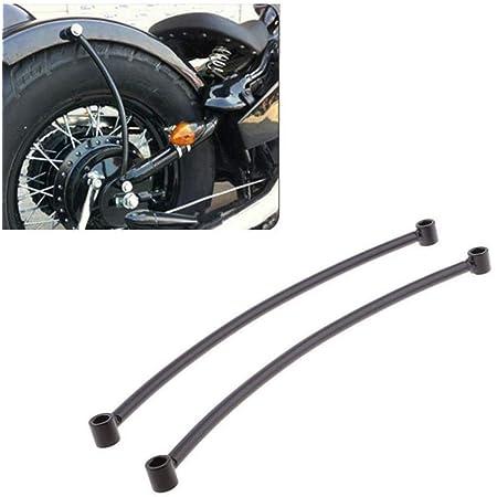 Motorrad Kotflügel Hinten Schwarz Schiene Unterstützung Bracket Halter Bobber Fender Für Harley Cruiser Motorrad Rahmen Zubehör R30 Baumarkt