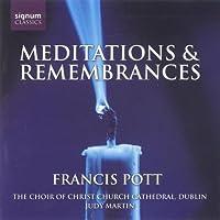 Meditations & Remembrances by FRANCIS POTT (2006-07-25)