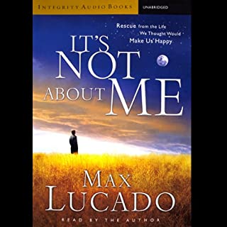 It's Not About Me audiobook cover art