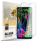 AYSOW Protector de Pantalla para LG G8S ThinQ, 9H Dureza Película de Vidrio Templado HD Antihuellas sin Burbujas Fácil de Instalar, Protector de Vidrio para LG G8S ThinQ [2 Pcs]