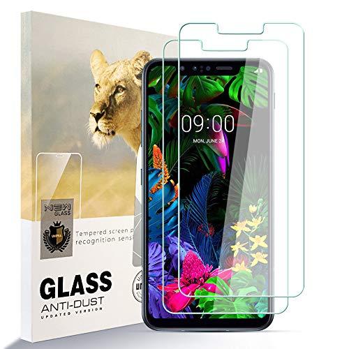 Asoway Pellicola Salvaschermo per LG G8S ThinQ [Confezione da 2] Pellicola in Vetro Temperato HD Anti-Impronta Senza Bolle Facile da Installare, LG G8S ThinQProtezione in Vetro con Durezza 9H