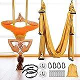 GJCrafts Columpio de Yoga aéreo, Que Incluye 4...