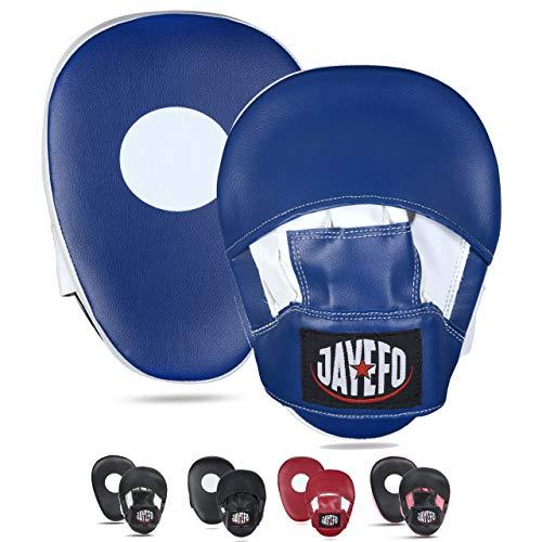 JAYEFO Punching Mitts (Blue/White)