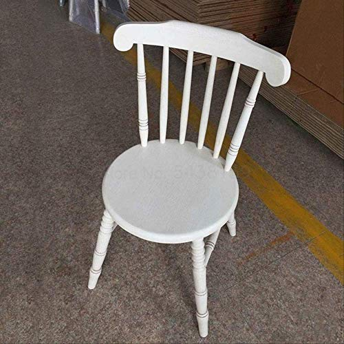 RF1996 American Dining Chair Solid Wood Chair Retro Nordic Home Leisure Simple Restaurant Hotel Tea Shop Restaurant Windsor Chair