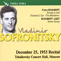 Vladimir Sofronitsky, piano