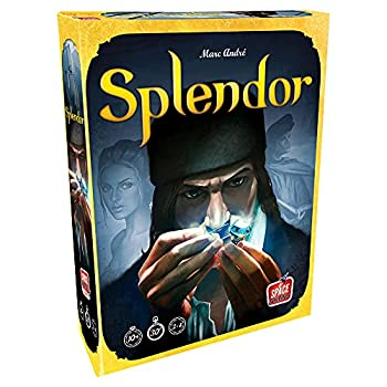 Splendor Board Game  Base Game  | Family Board Game | Board Game for Adults and Family | Strategy Game | Ages 10+ | 2 to 4 players | Average Playtime 30 minutes | Made by Space Cowboys