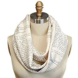 gifts for book lovers that aren't books ~ Wuthering Heights Scarf