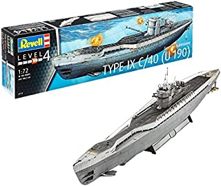 Revell 05133 106.3 cm German Submarine Type IX C/40 Model Kit