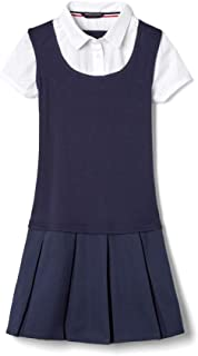French Toast Girls` Twofer Pleated Dress