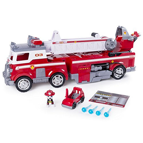 Paw Patrol 6043989 - Ultimate Rescue Feuerwehrauto mit Marshall-Figur
