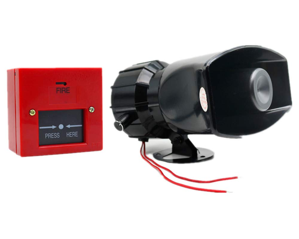 Alarm Siren Horn Max 40% OFF Warning Cheap mail order specialty store Fire Emergency A