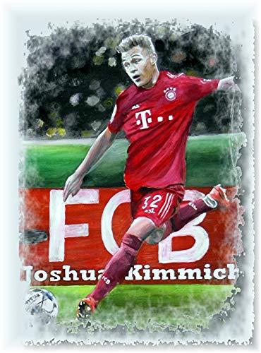 Joshua KIMMICH EIN klasse Kunstdruck-direkt vom Künstler 30cm x42cm
