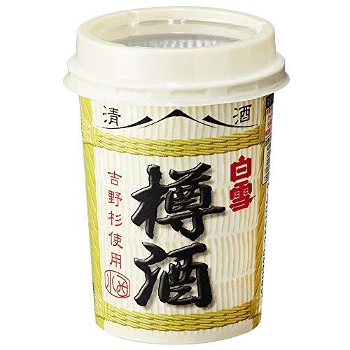 小西酒造 白雪 樽酒 カップ180ml小西酒造 白雪 樽酒 カップ180ml