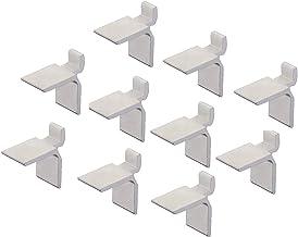 Gedotec Plankdragers van metaal, om op te hangen in rail - SYSTEM | verzinkt staal | houder voor houten vloeren & planken...