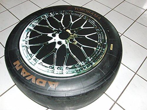 Beistelltisch aus Racing Slick/Rennreifen org. aus der DTM, GT 3, Geschenke für Männer