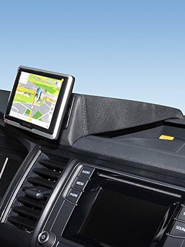 KUDA 5920 Halterung Echtleder schwarz für VW T6 Transporter/Multivan ab 2015 (Nicht Startline-Edition)