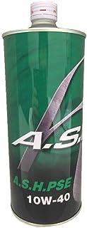 A.S.H.(アッシュ) PSE 10W-40 部分合成油 エンジンオイル 1L