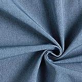 Fabulous Fabrics Softshell Jeansblau, Melange, 142cm