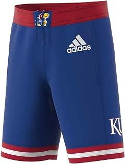 adidas Kansas Jayhawks Adult NCAA Replica Basketball Shorts - Royal,