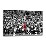 Leinwandbild Michael Jordan Vs Jazz Last Shot