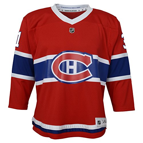 NHL by Outerstuff NHL Montreal Canadiens Kids & Youth Boys Carey Price Replica Jersey-Home, Red, Youth Small/Medium (8-12)