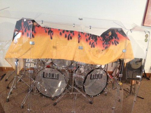 6. Pennzoni Drum Shield DS5D