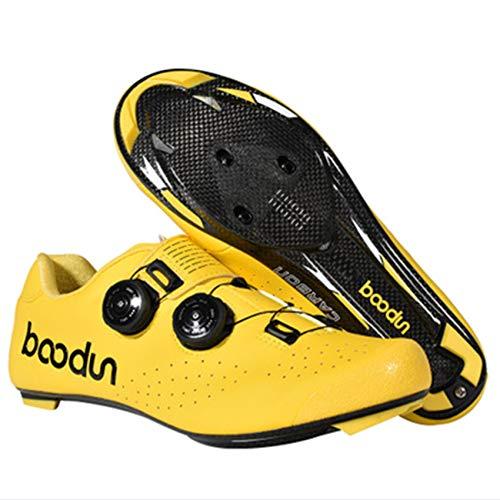 XYHLM Calzado Ciclismo Carretera Hombre Road Cycling Shoes Antideslizantes Transpirables Zapatillas de...