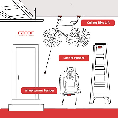 Racor - PSM-1R, Ladder Hook, Wheelbarrow Hanger