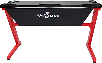 RaidMax PK101 Gaming Table With LED Black/Red PK101RD