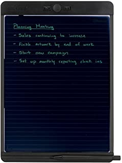 Boogie Board Blackboard Reusable Notebook with Letter-Size Writing Tablet with Stylus, Instant...