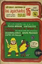 NUMEROS AGOTADOS DE LOS AGACHADOS DE RIUS 15