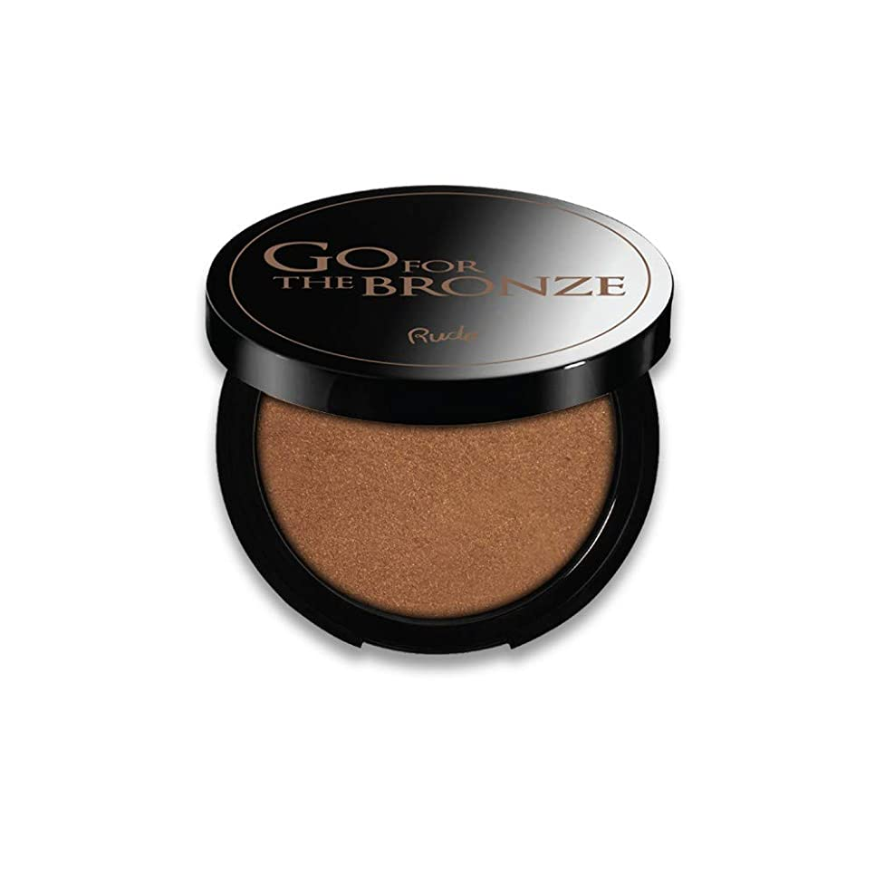 致死露寝室(3 Pack) RUDE Go For The Bronze Bronzer - As Good As Gold (並行輸入品)