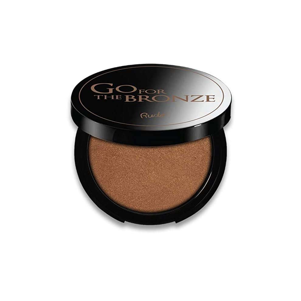 財布報奨金枯渇(3 Pack) RUDE Go For The Bronze Bronzer - As Good As Gold (並行輸入品)