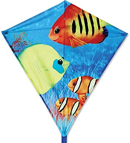 30 In. Diamond - Fishy Fishes by Premier Kites
